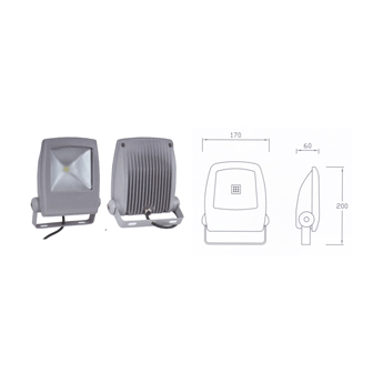 LED Floodlight Fittings-Ited701