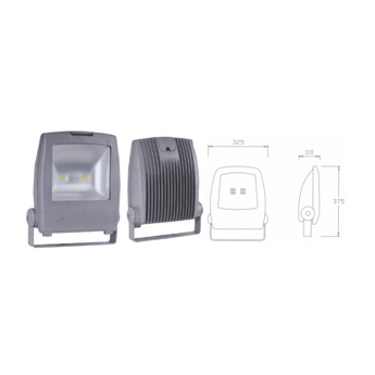LED Floodlight Fittings-Ited705